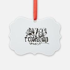 zion revolution power grey Ornament