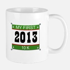 My First 10K Bib - 2013 Mug