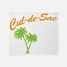 cul-de-sac crew Throw Blanket