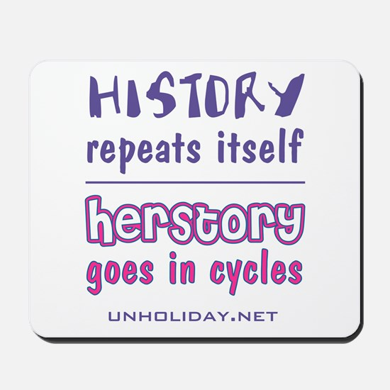 Herstory in Cycles Mousepad