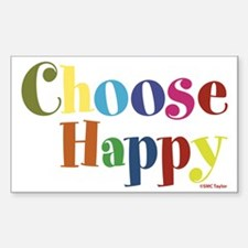 Choose Happy 01 Decal