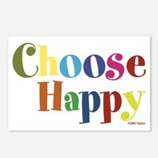Choose Happy 01 Postcards (Package of 8)