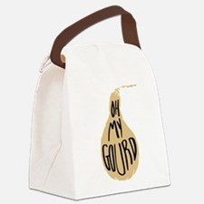 Oh My Gourd Canvas Lunch Bag