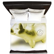 AA Piggy Bank King Duvet