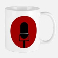 Red Microphone Icon Mugs