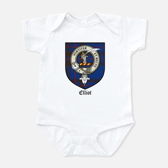 Elliot Clan Crest Tartan Infant Bodysuit