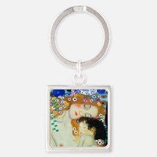 necklace_round_love Square Keychain