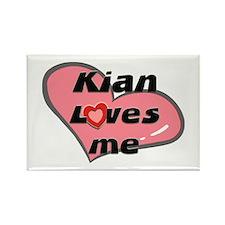 kian loves me Rectangle Magnet
