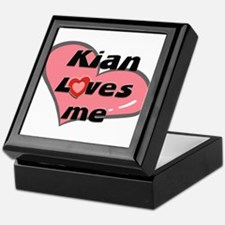 kian loves me Keepsake Box