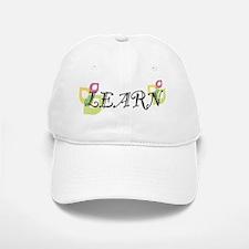 learn_party Baseball Baseball Cap
