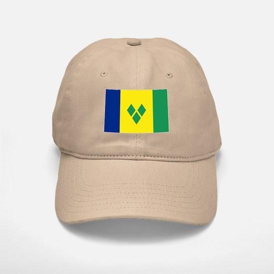 St Vincent & The Grenadines Nal flag Baseball Baseball Cap