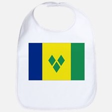 St Vincent & The Grenadines Nal flag Bib