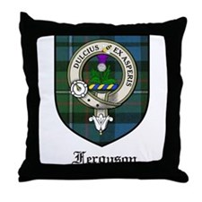 Ferguson Clan Crest Tartan Throw Pillow