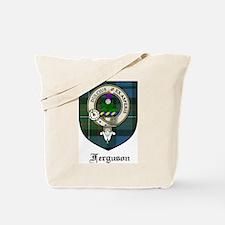 Ferguson Clan Crest Tartan Tote Bag