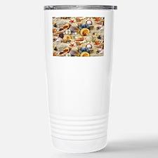 Seashell Stainless Steel Travel Mug