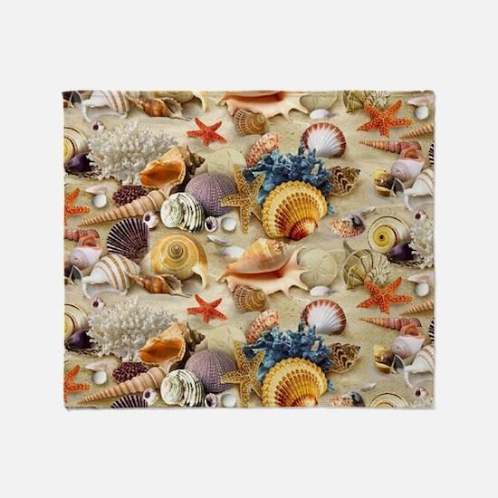 Seashell Throw Blanket