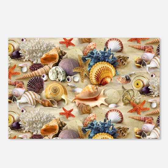 Seashell Postcards (Package of 8)