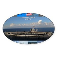 USS Carl Vinson Poster Decal