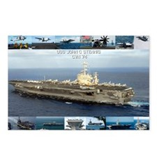 USS John C Stennis Postcards (Package of 8)