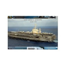 USS John C Stennis Rectangle Magnet