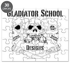 3 Skull Gladiator School Puzzle