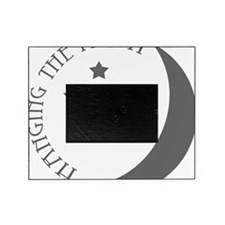 Hanging the Moon Grey Logo Picture Frame
