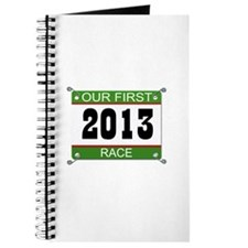 Our First Race Bib - 2013 Journal