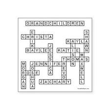 """WHITES Square Sticker 3"""" x 3"""""""