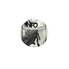 Bigfoot Fortean Phenomenal Mini Button