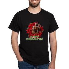 Redbone Coonhound baying T-Shirt
