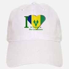 I love St Vincent flag Baseball Baseball Cap