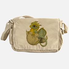 Obscenely Cute Dragon Messenger Bag