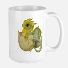 Obscenely Cute Dragon Large Mug