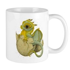 Obscenely Cute Dragon Small Mug
