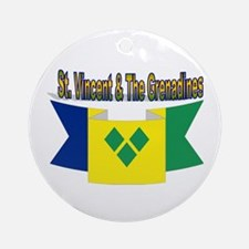 St Vincent & The Grenadines Ornament (Round)
