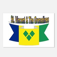St Vincent & The Grenadin Postcards (Package of 8)