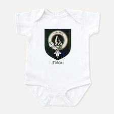 Fletcher Clan Crest Tartan Infant Bodysuit