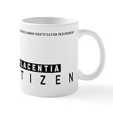 Placentia Citizen Barcode, Mug