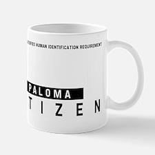 Paloma Citizen Barcode, Mug