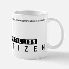 Papillion Citizen Barcode, Mug