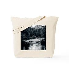 Silver Merced Tote Bag