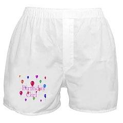 Birthday Girl Boxer Shorts