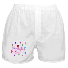 Birthday Girl Boxer Shorts