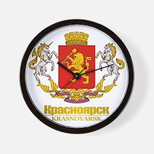 Krasnoyarsk COA Wall Clock
