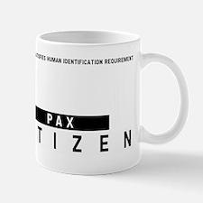 Pax Citizen Barcode, Mug
