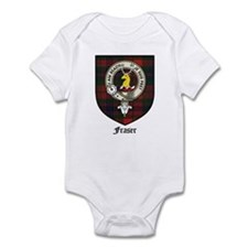 Fraser Clan Crest Tartan Infant Bodysuit