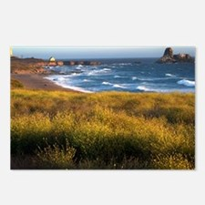 California Coast Postcards (Package of 8)