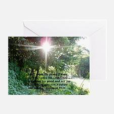 Sunbeam of Hope/Scripture Greeting Card
