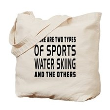 Water Skiing Designs Tote Bag