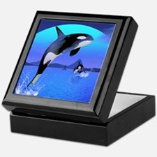 orca_stadium_hell_h_front Keepsake Box